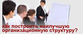 улучшить организационную структуру